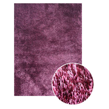 Tapis 120x170 cm DENVER coloris violet -