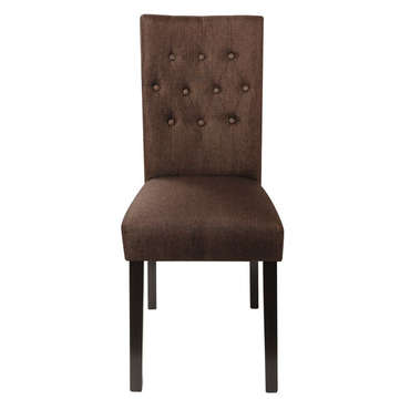 Chaise ARTHUS coloris marron -