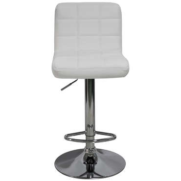 Tabouret de bar FLORENCE coloris blanc -