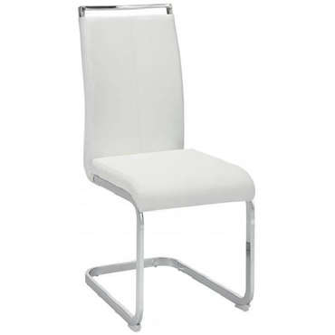 Chaise  EMY coloris blanc -