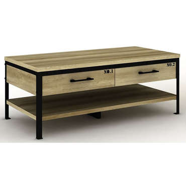 Table basse ARTY bicolore -