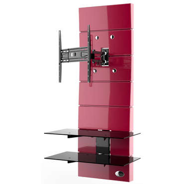 Meuble TV MELICONI GHOST DESIGN 3000 R ROUGE - Meliconi