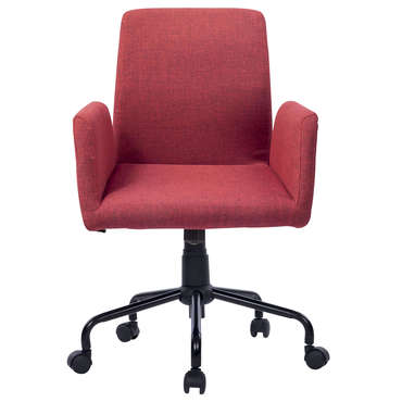 Chaise dactylo SQUARE coloris rouge -
