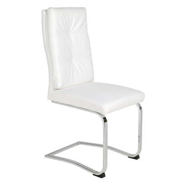 Chaise GRAB coloris blanc -