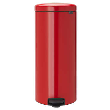 Poubelle cuisine 30 L rouge NEW ICON - Brabantia