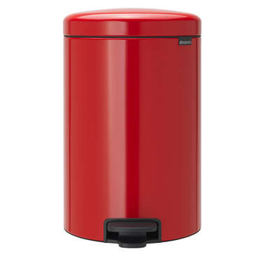 Poubelle cuisine 20 L rouge NEW ICON - Brabantia