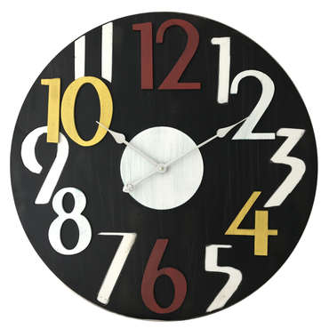 Horloge POP multicolore -