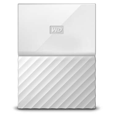 Disque dur externe 1 To WESTERN DIGITAL WD MY PASSPORT BLANC - Western Digital