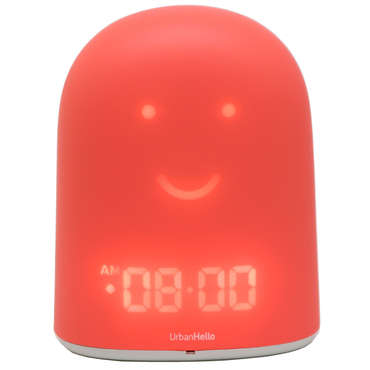 Compagnon de réveil URBAN HELLO SLEEP COMPANION REMI ROSE - URBAN HELLO
