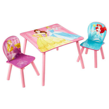 Ensembe table et 2 chaises  PRINCESSES - PRINCESSE