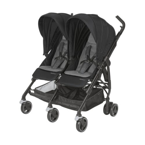 Poussette double Dana For2 Nomad black - BEBE CONFORT