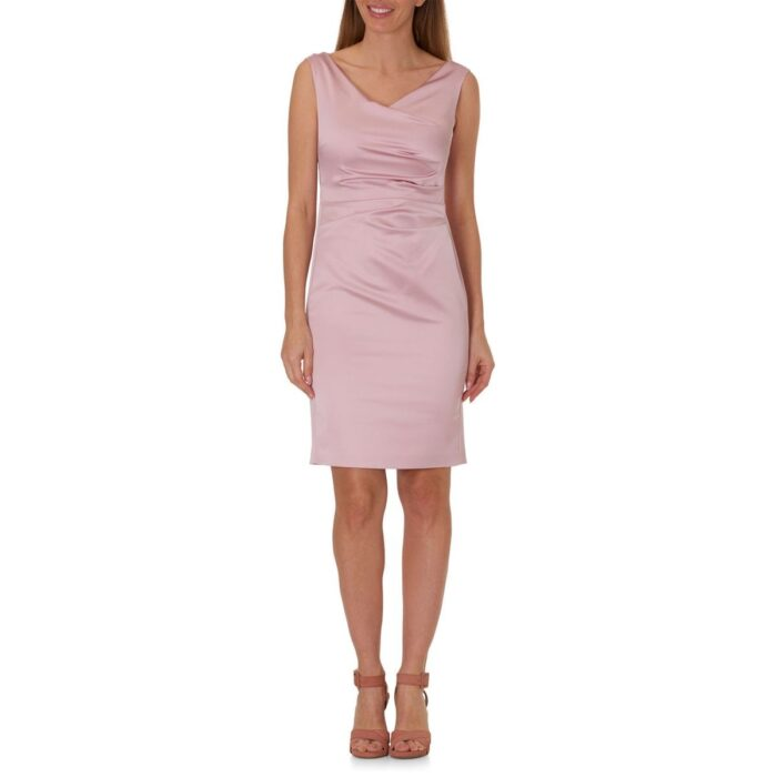 Robe fourreau En satin stretch - VERA MONT