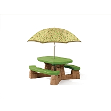 LDD Step 2 - Table de picnic avec parasol - Pragma