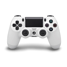 PlayStation 4 - Manette DualShock 4 Officielle - Blanche - Sony