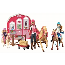Mattel - Poupée Barbie - Le Ranch de Barbie - Mattel