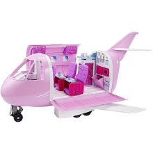 Poupée Barbie Pink Passeport - L'Avion de Barbie - Mattel