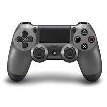 Manette Dual Shock 4 pour PS4 - Steel Black - Sony
