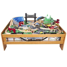 Universe of Imagination - Table train avec métro - Toys R Us