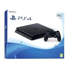 Console PlayStation 4 ''Slim'' - 500 Go - Jet Black - Sony