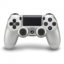 PlayStation 4 - Manette DualShock 4 Officielle - Argent - Sony