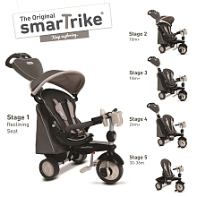 SmarTrike - Tricycle Evolutif - Gris - SmarTrike