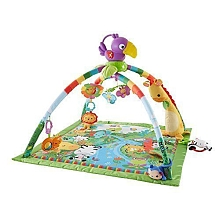 Fisher Price - Tapis de la jungle Deluxe - Mattel