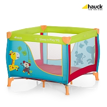 LDD Hauck - Lit parapluie SQ Jungle Fun - Hauck