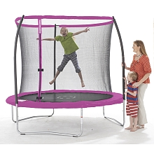 Stats - Trampoline 244 cm (+ Filet) - Rose - Toys R Us