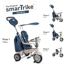 SmarTrike - Tricycle Chic Bleu - SmarTrike