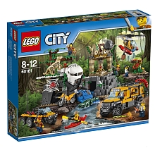 LEGO® City - Nouveautés 2017 - Le site d'exploration de la jungle - 60161 - Lego