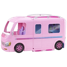 Barbie - Camping Car Transformable - Mattel