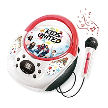 Lecteur CD + Micro - Kids United - Canal Toys