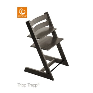 Chaise haute Tripp Trapp gris brume - Stokke