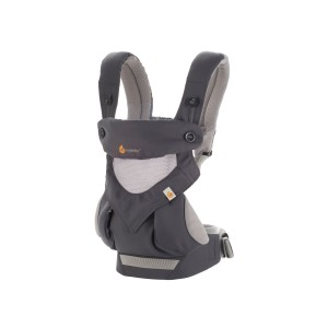 Porte-bébé 360 4 positions cool air anthracite - Ergobaby