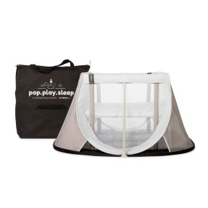 Lit parapluie pop-up Instant Travel Cot White Sand - Aeromoov