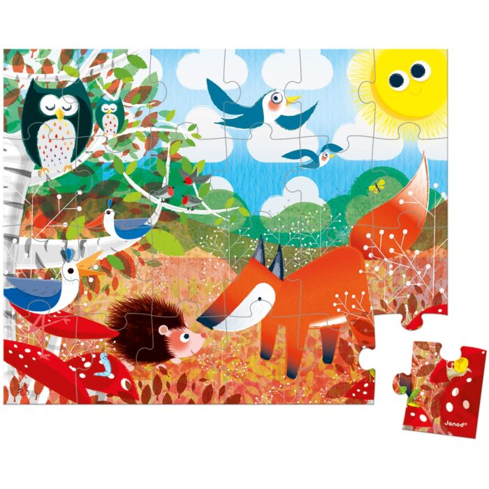 puzzle-foret-24-pieces-janod